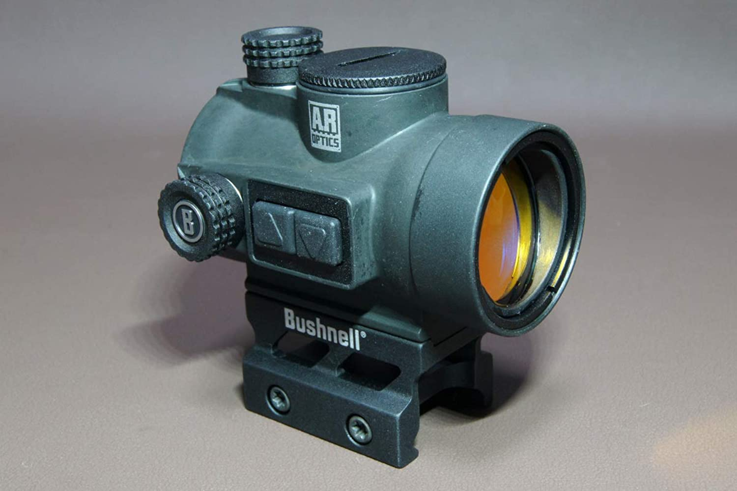 Bushnell AR Optics Red Dots  TRS26, 1x26mm, Matte, 3 MOA Red Dot, 1 2 MOA Click Value, MultiCoated, Waterproof Fogproof Shockproof, Industry Standard Mount, AR Height, CR2032