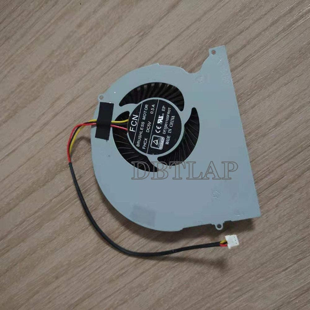 DBTLAP CPU Cooling Fan Compatible for Hasee Genuine Z7M P65R S3 Z7 G7 Direct store G8
