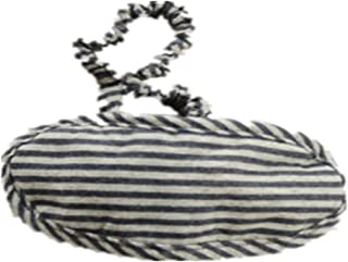 Japanese-style Stripe Travel Cotton Breathable Knitted Goggles A2