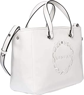 Replay Women's Shiny Effect Shoulder Bag