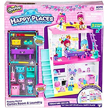Shopkins Happy Places Home Laundry & Games Ro | Shopkin.Toys - Image 1