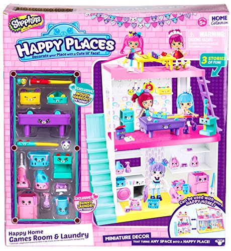 Shopkins Happy Places Happy Homes Games Room and Laundry