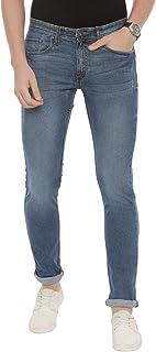 Swiss Club Mens Solid Casual wear Slim Fit Denim(D-SC-15 B-SL-MBL-LY_36 INCH)