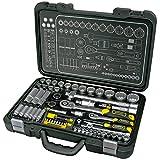 Proteco-Werkzeug® Profi-Steckschlüsselsatz Steckschlüsselkasten 1 4 und 1 2 Zoll 60