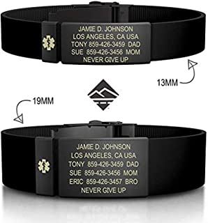 Best steel bells medical id bracelets Reviews