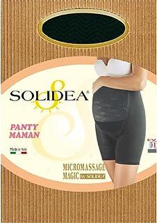 Panty Maman SOLIDEA Maternità a mezza coscia Shaper breve Mandorla Donna Abbigliamento premaman
