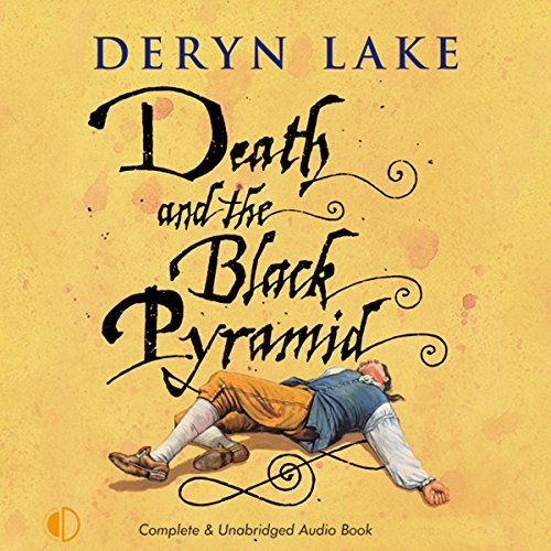 Death and the Black Pyramid audiobook cover art