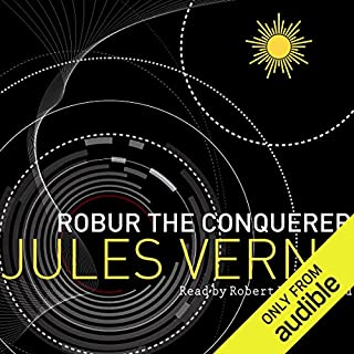 Robur the Conqueror audiobook cover art