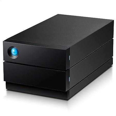 LaCie HDD 外付けハードディスク 8TB 2big RAID USB type C 5年間保証 STHJ8000800