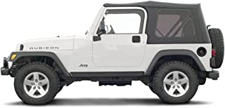 2004 Jeep Wrangler Unlimited, 2-Door Long Wheelbase, Stone White/Black (Top)