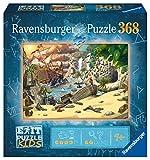 Ravensburger- Das Piratenabenteuer Exit Kids 12954-Puzzle de Aventura Pirata (368 Piezas, para niños a Partir de 9 años), Multicolor (12954)