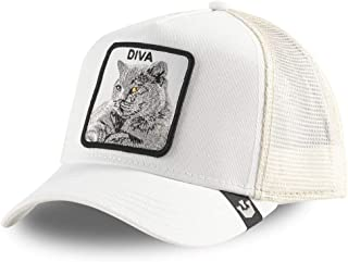 Goorin Bros. Trucker Cap Diva Stance/Katze White - One-Size