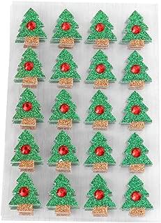 Schmucksteine Sterne 50 Glitzersteine selbstklebend Weihnachten Tannenbaum NEU