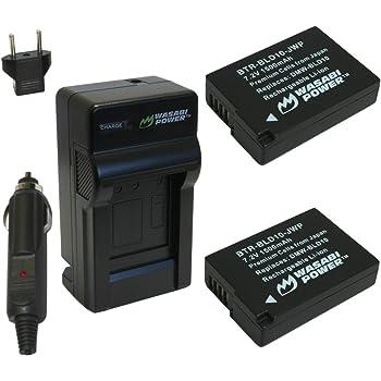 DMW-BLD10 DMW-BLD10PP DMW-BLD10E Cargador de Batería para Panasonic Lumix DMC-G3 GF2