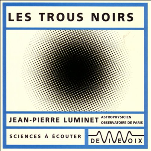 Les trous noirs audiobook cover art