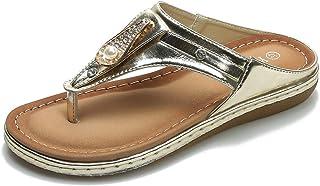 Women's Flip Flops Sandals Casual for Women Beach Thong Style in Summer