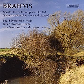 Brahms: Sonatas for Viola and Piano & Songs for Alto Voice, Viola and Piano