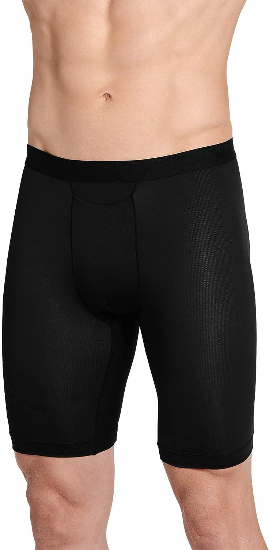 Jockey Men's Underwear Travel Long Leg Boxer Brief