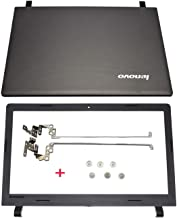 New Replacement for Lenovo Ideapad 100-15 100-15IBY LCD Back Cover & Bezel & Hinges & Screws