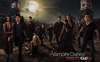 The Vampire Diaries Season 5 (38inch x 24inch/96cm x 60cm) Waterproof Poster No Fading