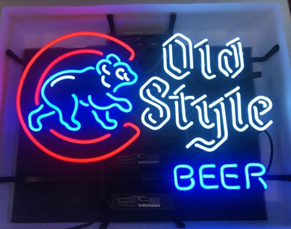 """New Chicago Cubs 2016 World Series Champion Neon Light Sign 20/""""x16/"""""""
