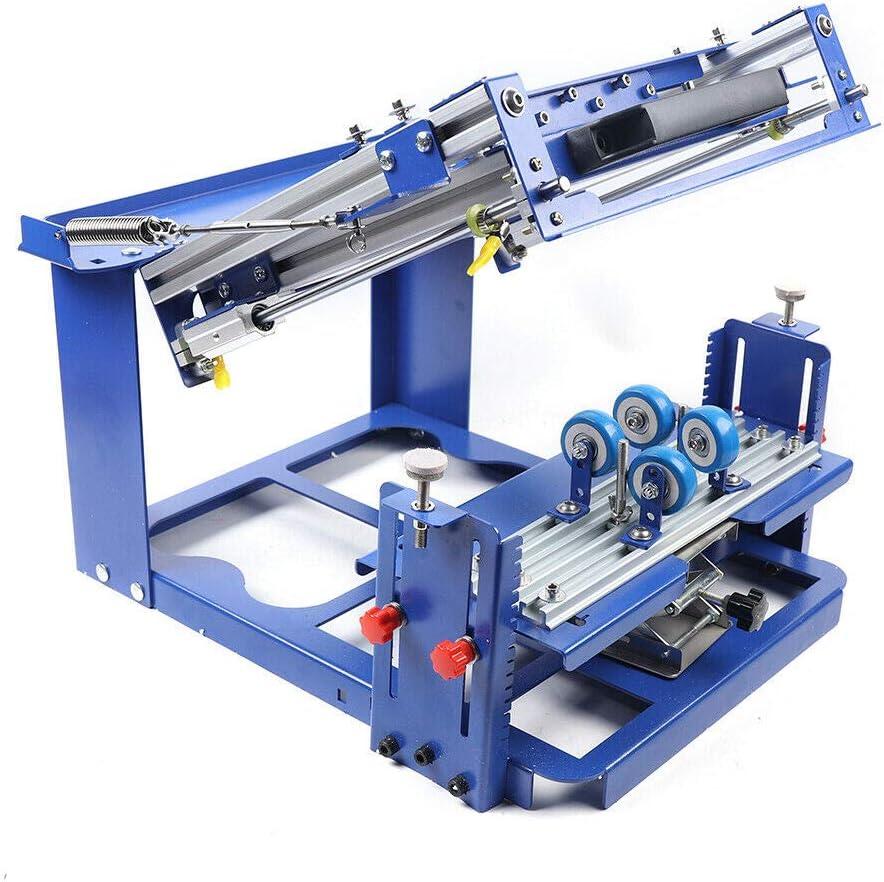 DNYSYSJ Curved Screen Printing Max 71% OFF Machine Manual 80mm mart Cylinder Dia