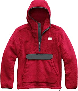 Campshire Pullover Hoodie Cardinal Red/Asphalt Grey LG