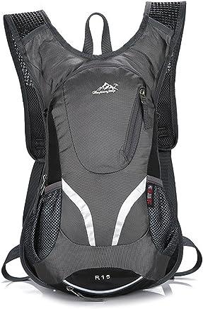 PIO Outdoor Fahrrad Rucksack Unisex Leichte Breathable Bequeme Wasserbeutel Reiten Daypack Casual Trips Rucksack B07D31WZ8L | Angenehmes Gefühl