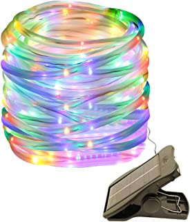 Cold White longdafeiUS Solar Rope String Lights Copper Tube Wire String Lights with 39ft//12M 100LED Waterproof for Outdoor Garden Wedding Party Christmas Xmas Decoration