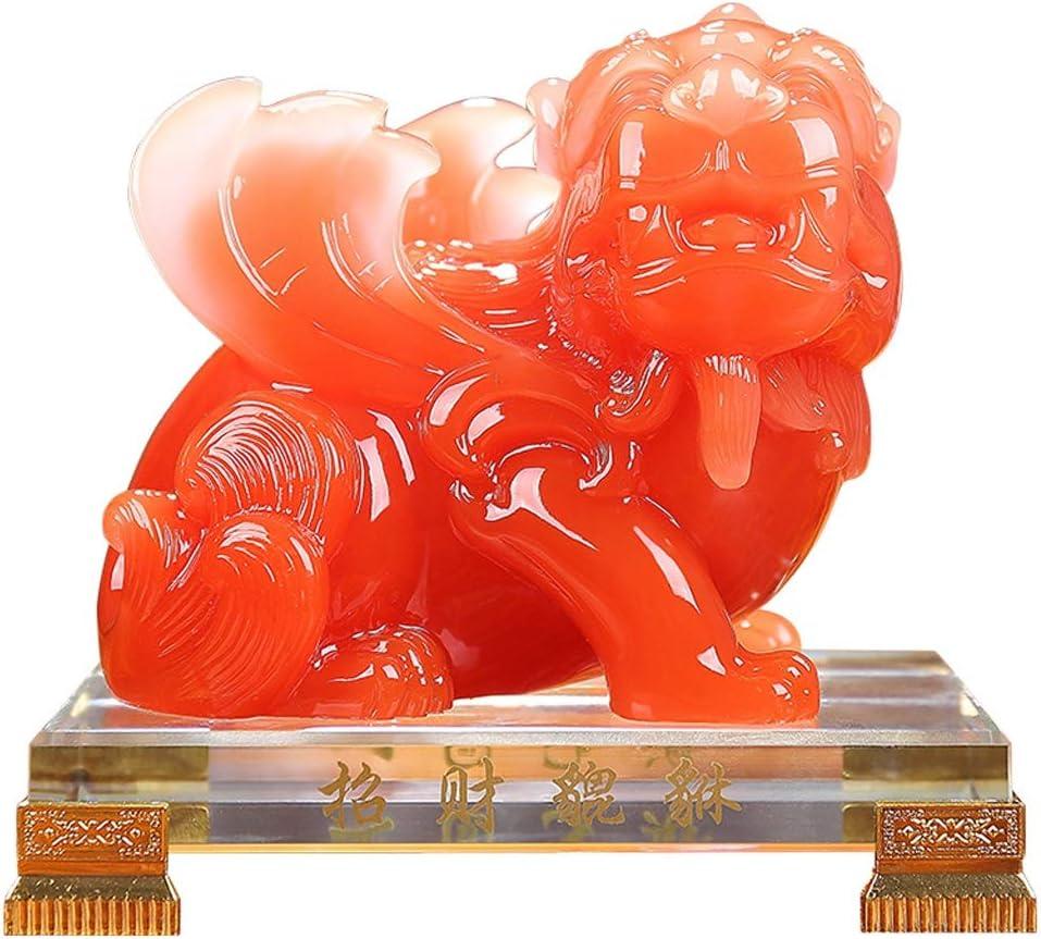 xilinshop Wealth Lucky Figurine Feng Tulsa Mall Cheap SALE Start Shui Prosperity Resi