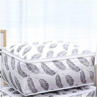 Aqiong CGS2 Sac de rangement pliable 2 tailles pour vêtements, oreillers, couverture, jouets, rangement pour garde-robe, P...