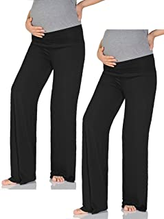 Women's Maternity Wide/Straight Comfortable Pants Made in...