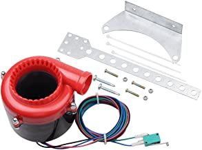 Red Black Car Fake Electronic Turbo Blowoff Blow Off Valve BOV Analog Sound For Honda Mazda Mitsubishi Toyota