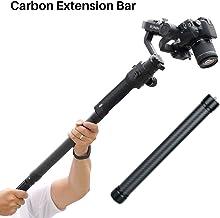 Professional Carbon Fiber Extension Monopod Pole Stick Rod 1/4'' 3/8'' Compatible for DJI Ronin S Moza Air Cross FeiyuTech AK4000 Zhiyun Crane 2 Smooth 4 Ronin SC Zhiyun Crane M2 Crane 3 Weebill Lab