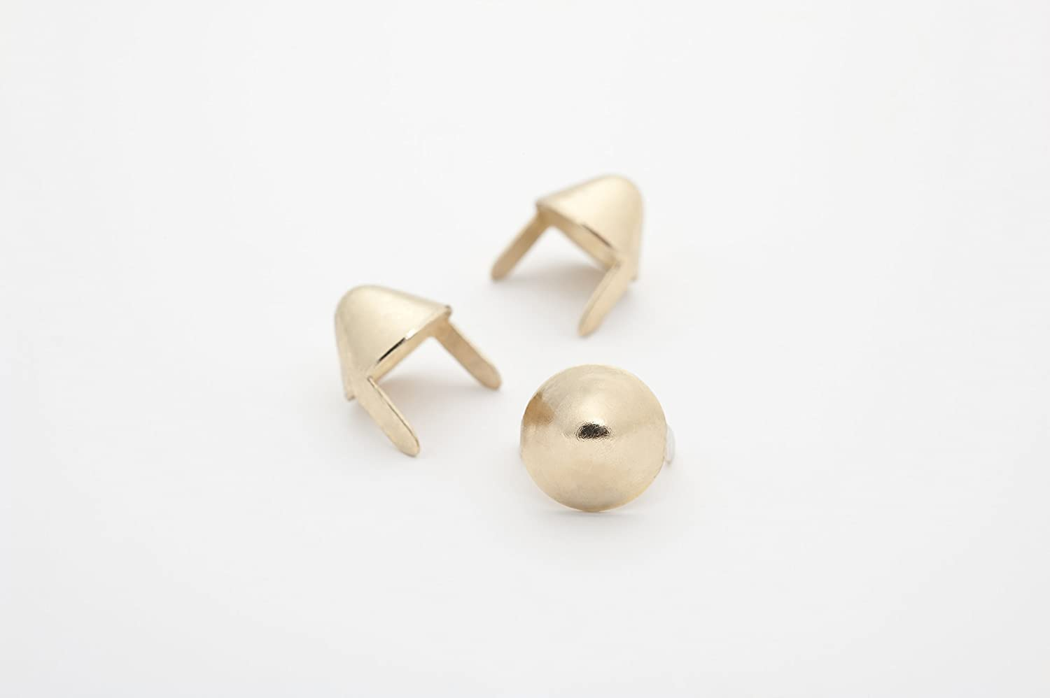 English77 Golden Metal Miami Special price Mall Studs - Clothing used for Leather Ideally