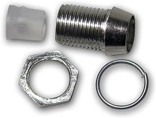 world trading net 20 Metallfassungen Schraube für 5mm Standard LEDs
