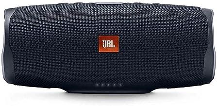 JBL Charge 4 - Altavoz inalámbrico portátil con Bluetooth, parlante resistente al agua (IPX7), JBL Connect+, hasta 20 h de reproducción con sonido de alta fidelidad, negro