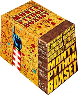 Everything Ever In One Gloriously Fabulous Ludicrously Definitive Outrageously Luxurious Monty Python Boxset