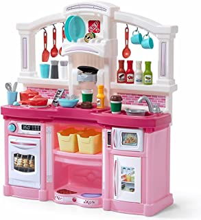 Step2 Fun with Friends Kitchen | Large Plastic Play Kitchen with Realistic Lights &..