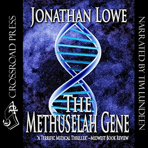 The Methuselah Gene audiobook cover art