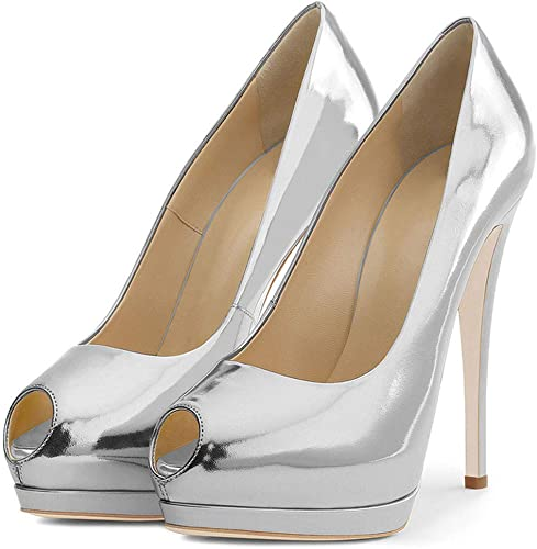 He-yanjing He-yanjing He-yanjing Talons Hauts Femmes, 2019 Nouvelle Mode Sauvage Style européen et américain Couleur Unie Fine Haute Talon élégant Sexy Les Les dames Chaussures Simples,e,42 dd5