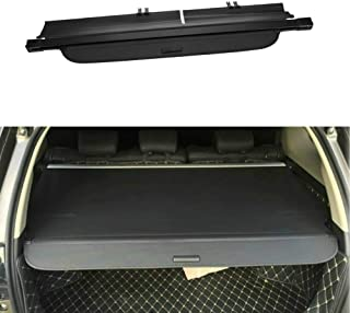 MotorFansClub for Jeep Cherokee 2014-2018 Rear Trunk Cargo Luggage Shade Cover Black (US Shipment)