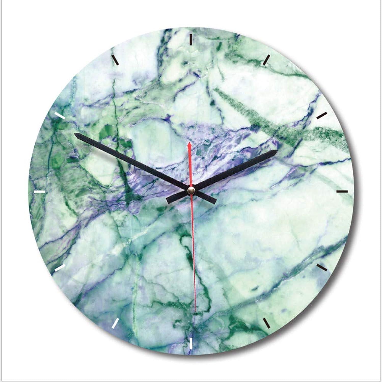 Marble Nordic Wall Clock, Fashion Creative Art Clock,A