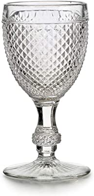 Bicos Clear Red Wine Goblet - Set of 4