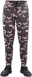 LUKEEXIN Men' Sports Tights Pants Cool Dry Camouflage Pants Yoga Pants