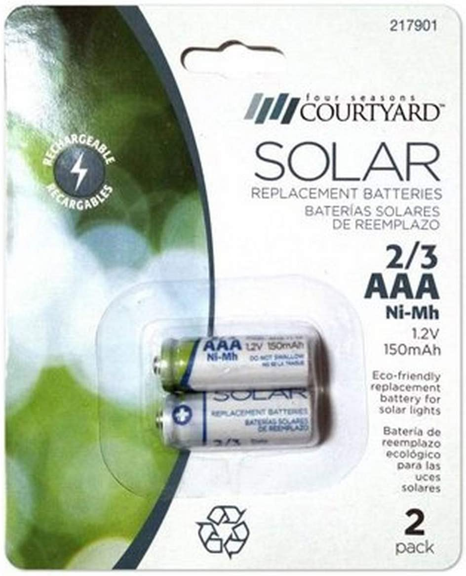 HEADWIND CONSUMER PRODUCTS 830-1901 FS 2 Pack 2/3 AAA Battery, 3 Piece