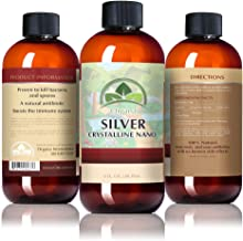 Organa 8oz Nano Colloidal Silver (100 PPM)- The Best Colloidal Silver - Colloidal Minerals