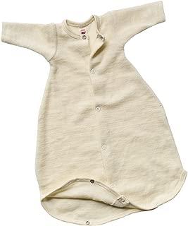 Light Green Print Cocooi Merino Baby Sleep Bag for Newborn Babies