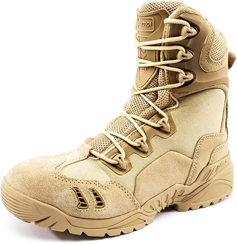 Antarctica Men's Outdoor Sports Leather Hiking shoes Walking Trekking Sneaker Hiking Boots
