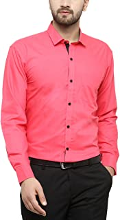 JAINISH Men's Plain Regular Fit Formal Shirt